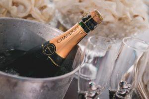 Kocke leda od šampanjca