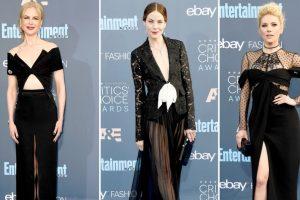 Critics Choice Awards moda sa crvenog tepiha
