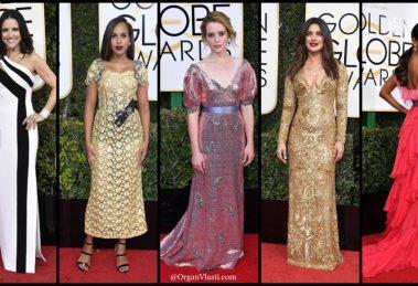 Golden Globes 2017 moda sa crvenog tepiha