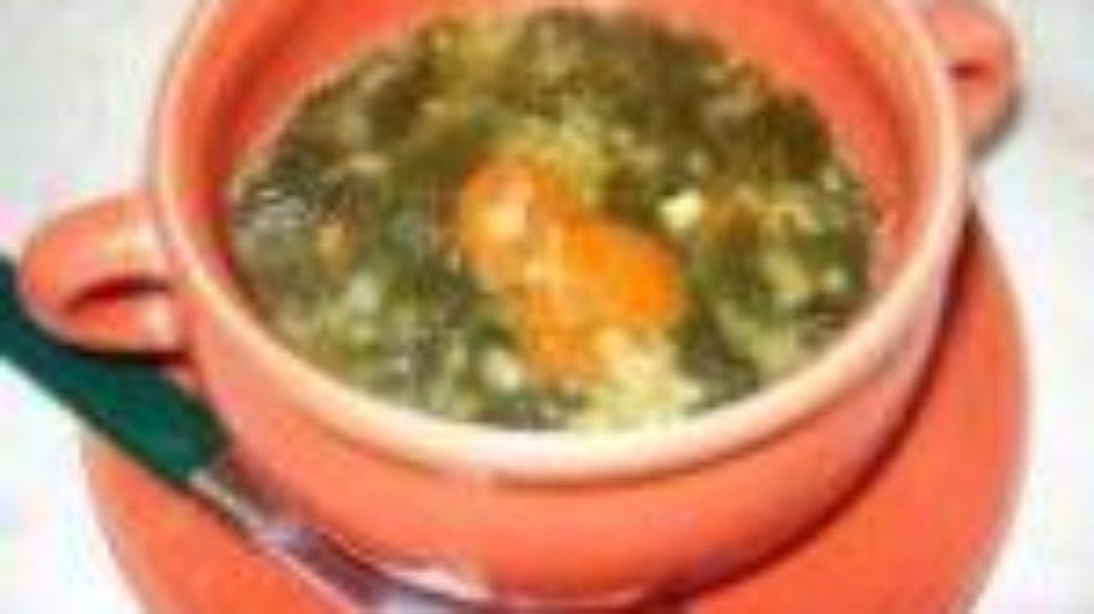 Čorba od mladog zelja sa pirinčem