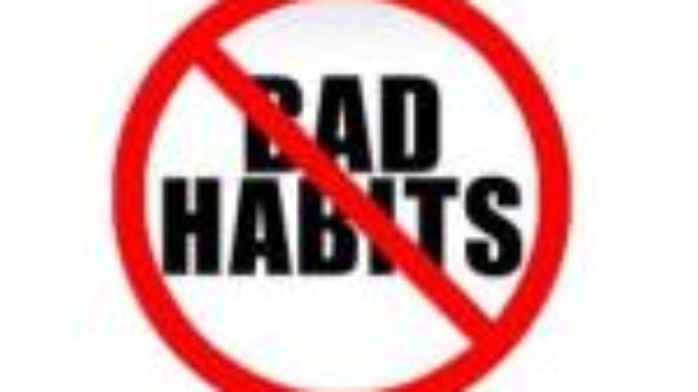 Prekinite s lošim navikama