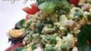 Salata sa mladim graškom
