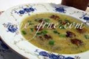 Krem supa od mladog luka