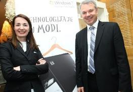 Dragana Ognjenović i Erik Lalier