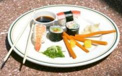 suši na tanjiru