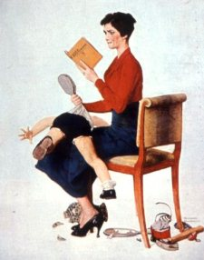 žena batina dete