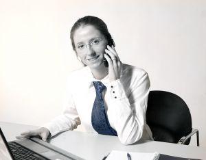 devojka na poslu