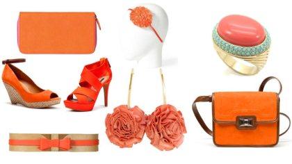 Narandžasti modni detalji