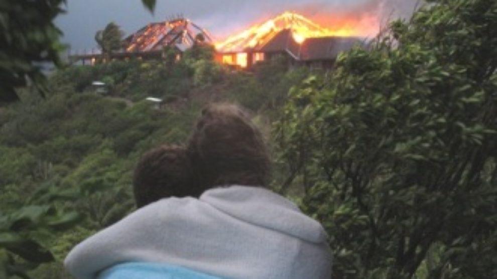Požar na ostrvu Ričarda Bransona