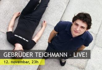 GEBRÜDER TEICHMANN – LIVE! U Kulturnom centru GRAD