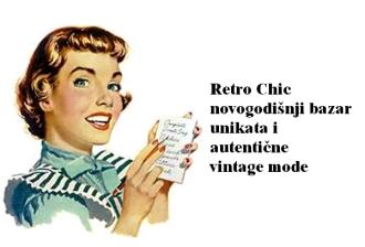 Konkurs za Retro Chic novogodišnji bazar unikata i autentične vintage mode