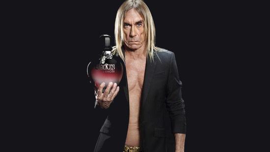 Iggy Pop novo lice Paco Rabbane parfema
