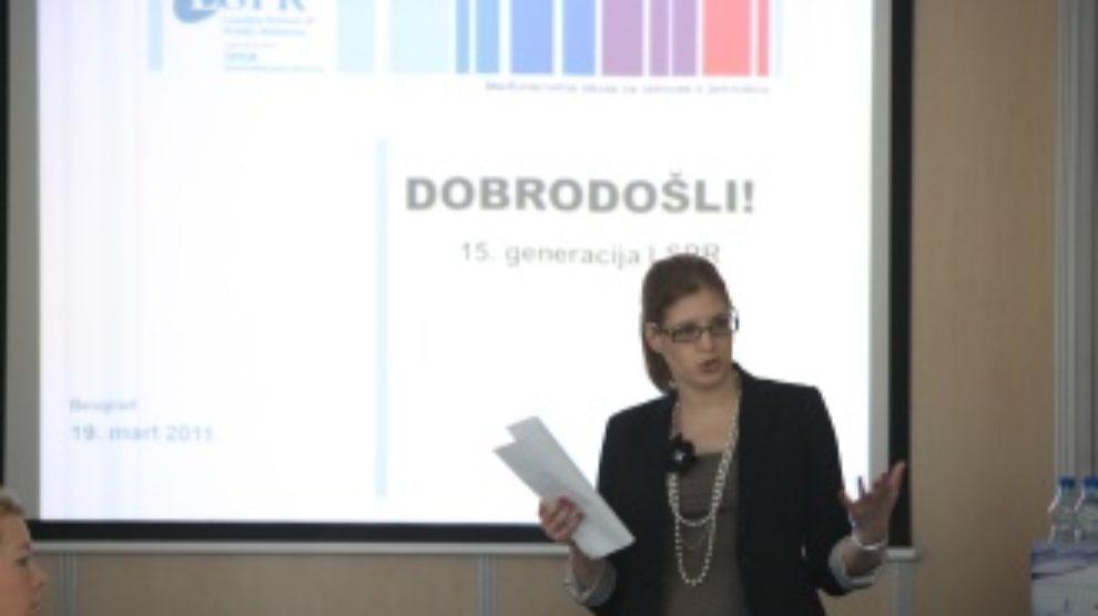 Prosvetni radnik u poslu PR-a: Lana Andrić