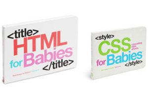 HTML i CSS knjige za bebe