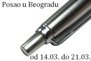 Posao u Beogradu 14.03.- 21.03.