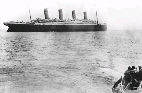 poslednja fotografija titanika