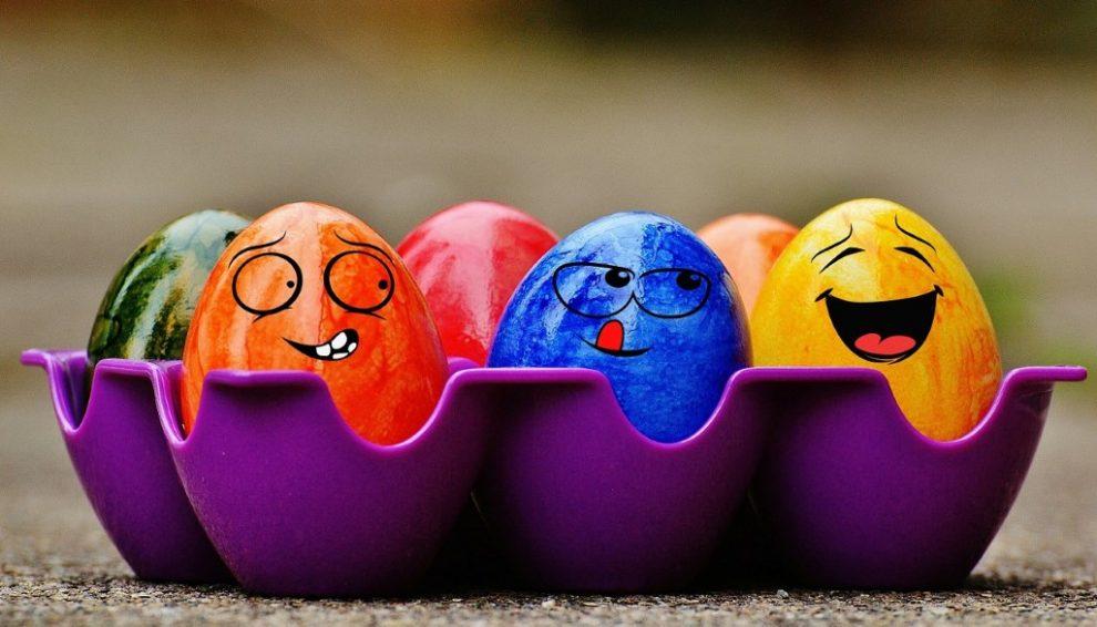 Dekoracija jaja za Uskrs