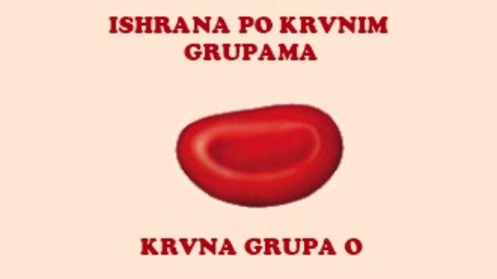 Dijeta po krvnim grupama – krvna grupa O