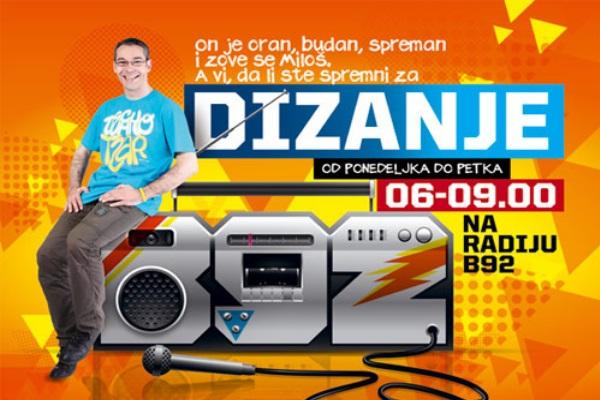 Dizanje radija B92