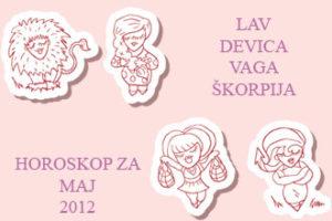 Horoskop za maj 2012 Lav – Škorpija