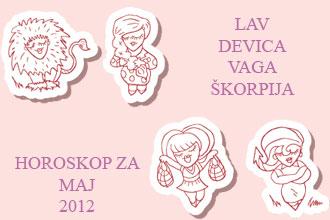 horoskop za maj 2012 lav škorpija