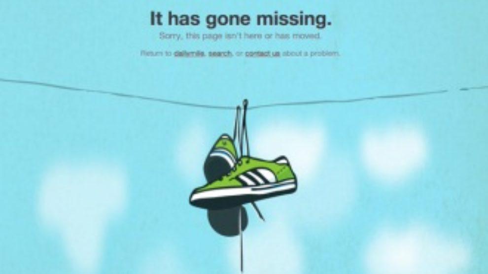 404 error page dizajn
