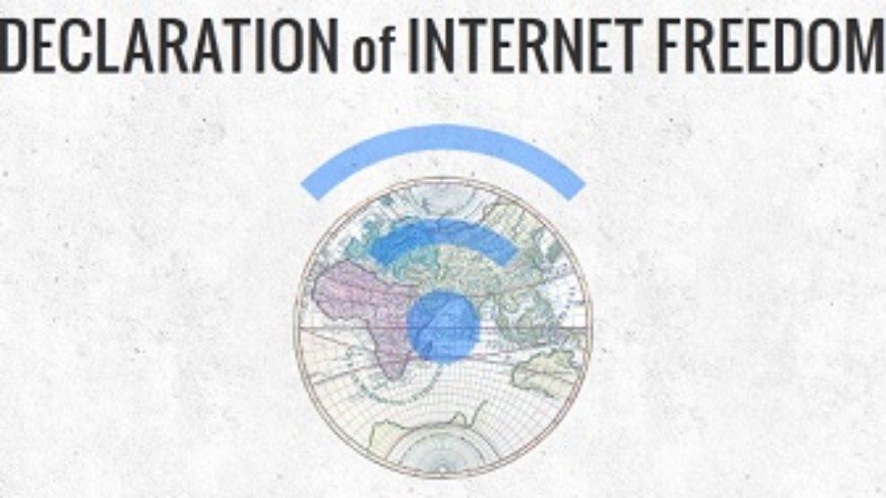Deklaracija slobode na internetu