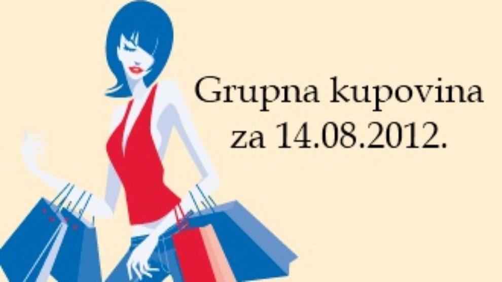 Grupna kupovina za 14.08.2012.