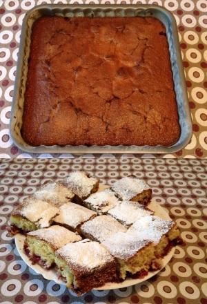 kolač sa višnjama