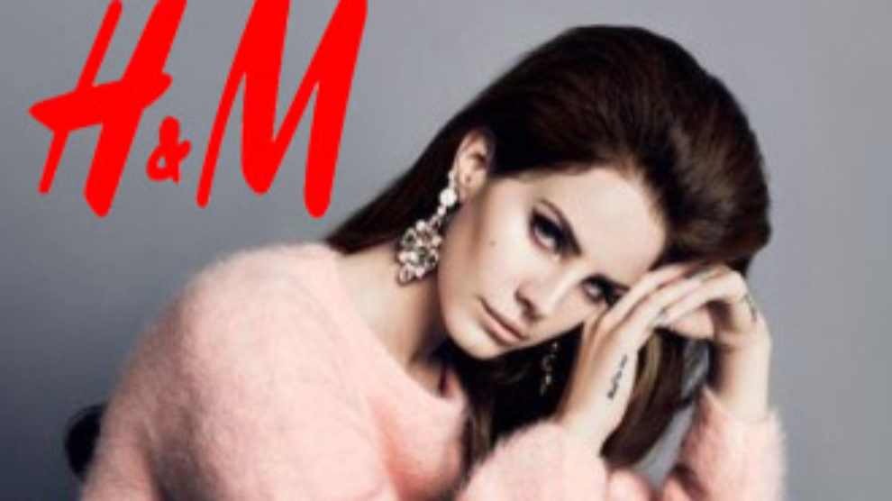Lana Del Rey zastitno lice jesenje kolekcije H&M