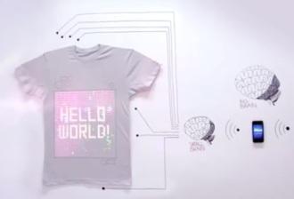 majica koja se programira