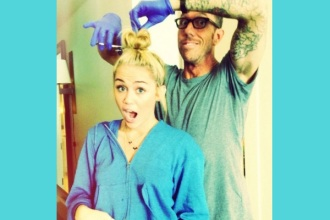Nova frizura Miley Cyrus