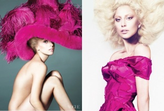 retusirana Lady Gaga u septembarskom Vogueu