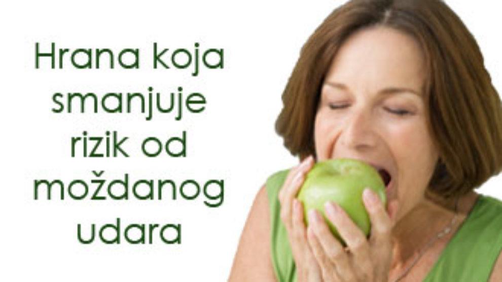 Hrana koja smanjuje rizik od mozdanog udara