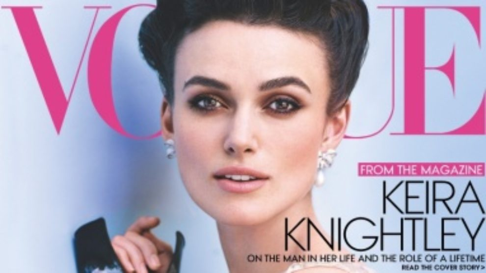 Keira Knightley u oktobarskom Vogueu