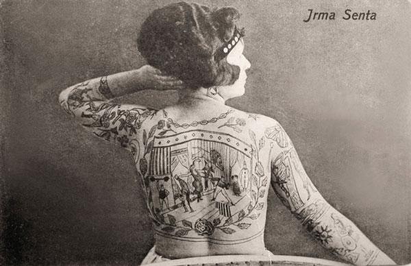 tetovirane dame iz proslosti