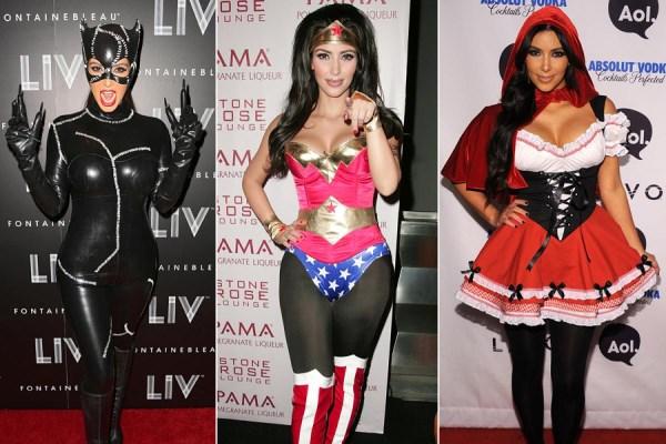 Kim Kardashian kostimi za Noc vestica