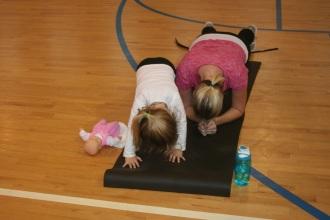 fitnes uz malo dete