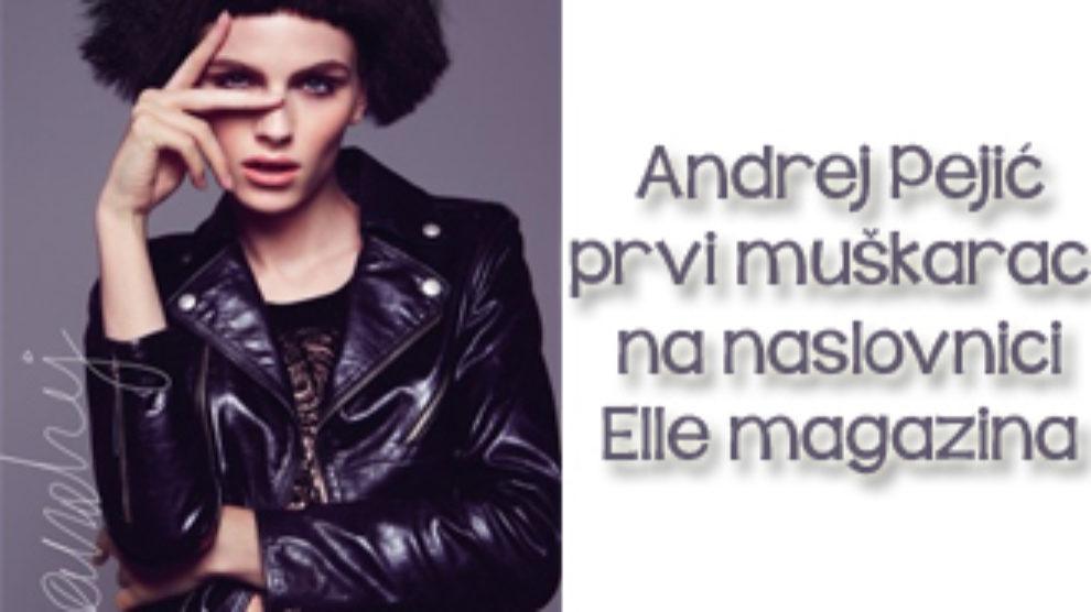 Andrej Pejic na naslovnici srpskog Elle