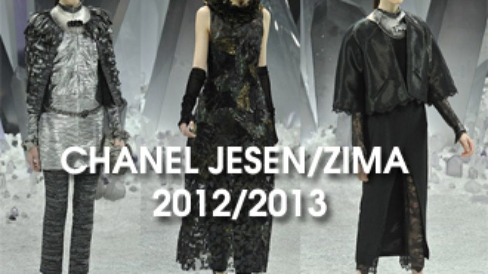 Chanel Ready to Wear jesen zima 2012/2013