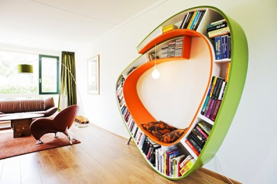 bookworm polica za knjige