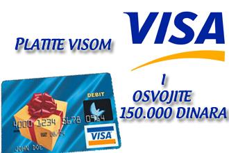 platite visom i osvojite 150000 dinara