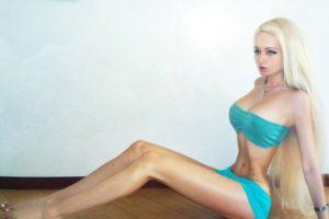 Valeria Lukyanova za V magazin