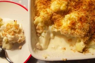 zapečeni karfiol sa sirom