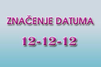 znecenje datuma 12-12-12