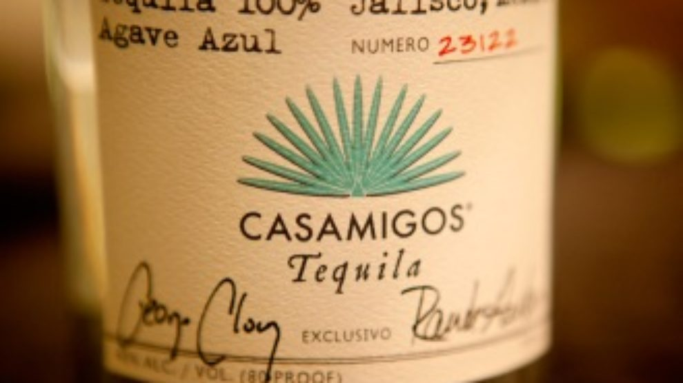Casamigos tequila by George Clooney