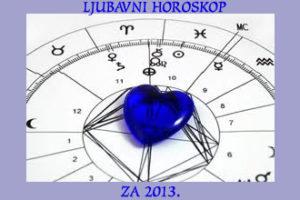 Ljubavni horoskop za 2013.