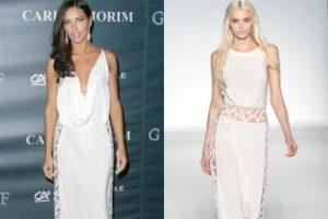 Adriana Lima u naopakoj haljini