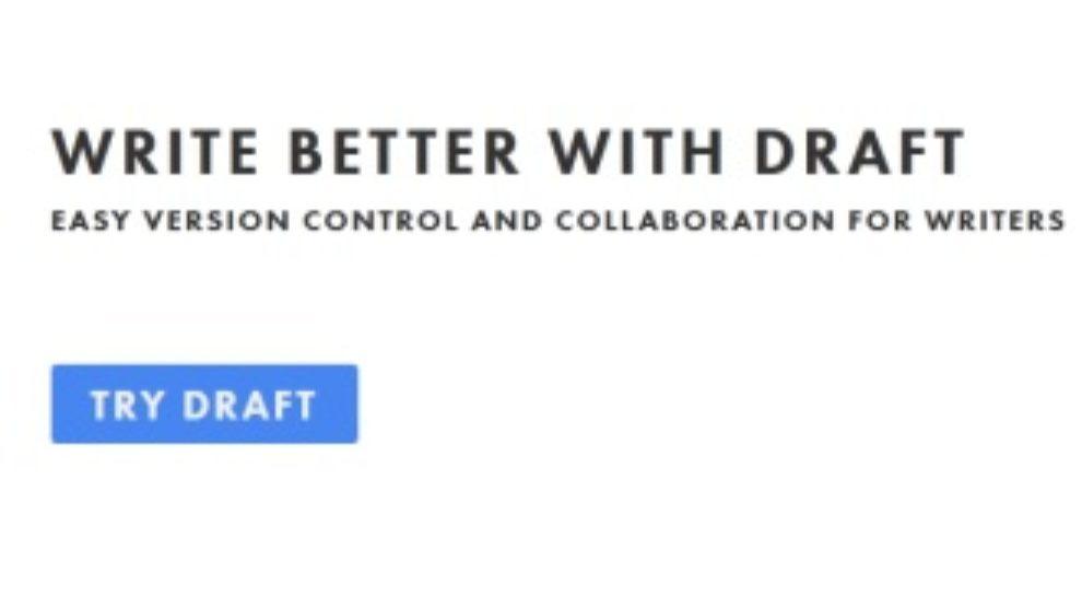Draft: online Word procesor