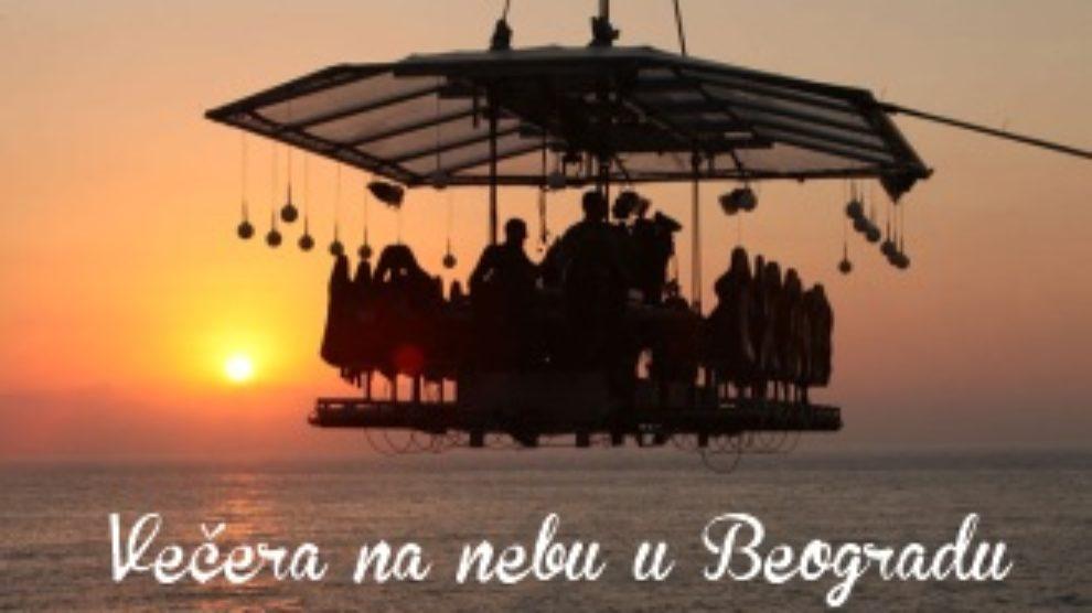 Osvojite Veceru na nebu u Beogradu
